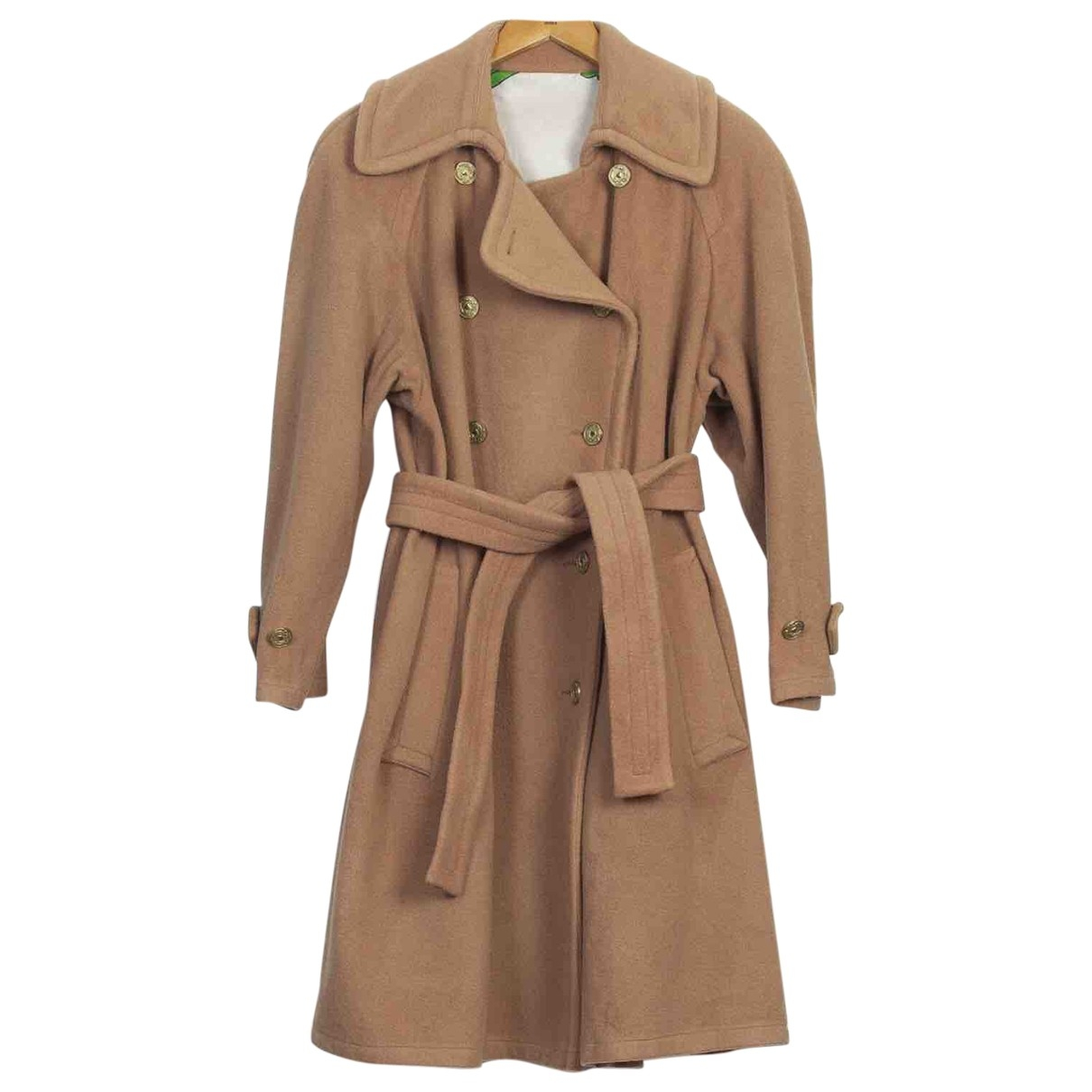 Moschino Cheap And Chic \N Camel Wool coat for Women M International