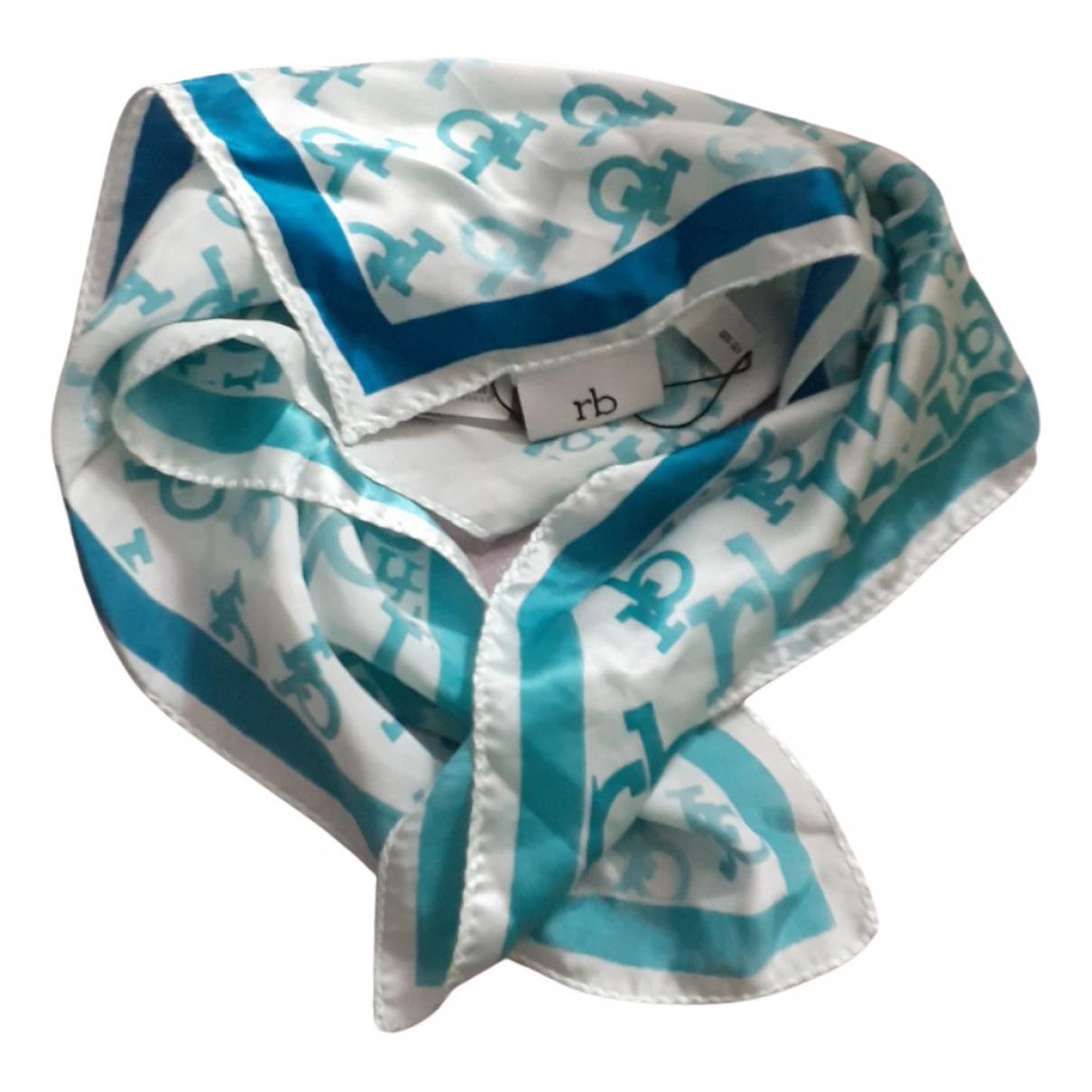 - Foulard   pour femme en soie - turquoise