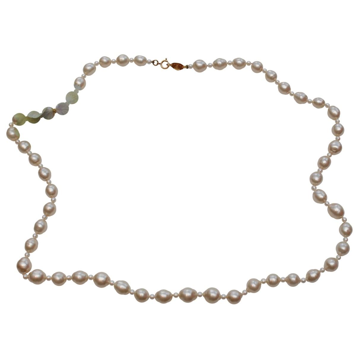 Collar largo de Perlas Chanel