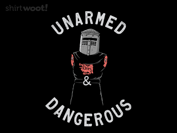 Armless But Not Harmless T Shirt