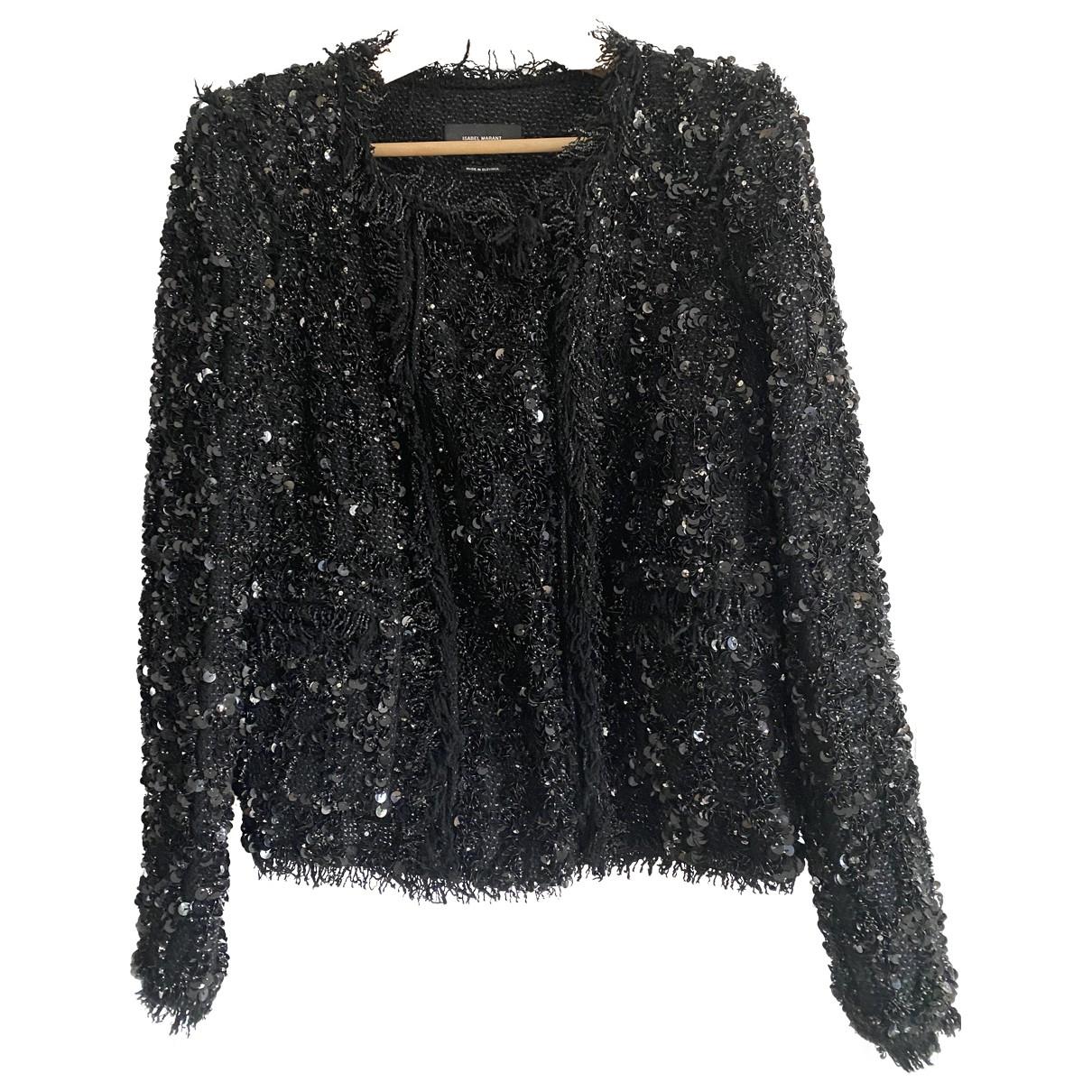 Isabel Marant \N Black Glitter jacket for Women 40 FR