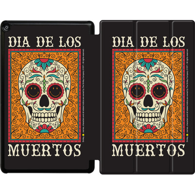 Amazon Fire HD 10 (2017) Tablet Smart Case - Dia De Los Muertos  von Smiley®