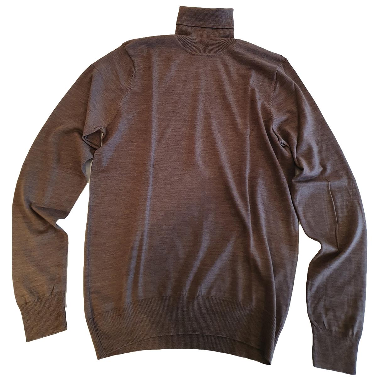 Patrizia Pepe \N Pullover.Westen.Sweatshirts  in  Beige Wolle