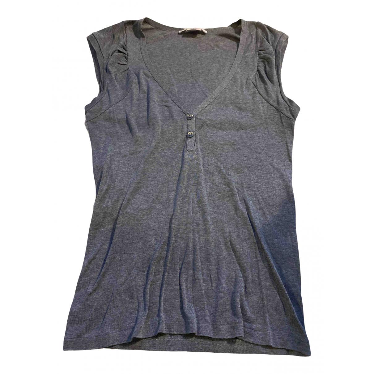Vanessa Bruno - Top   pour femme en coton - gris