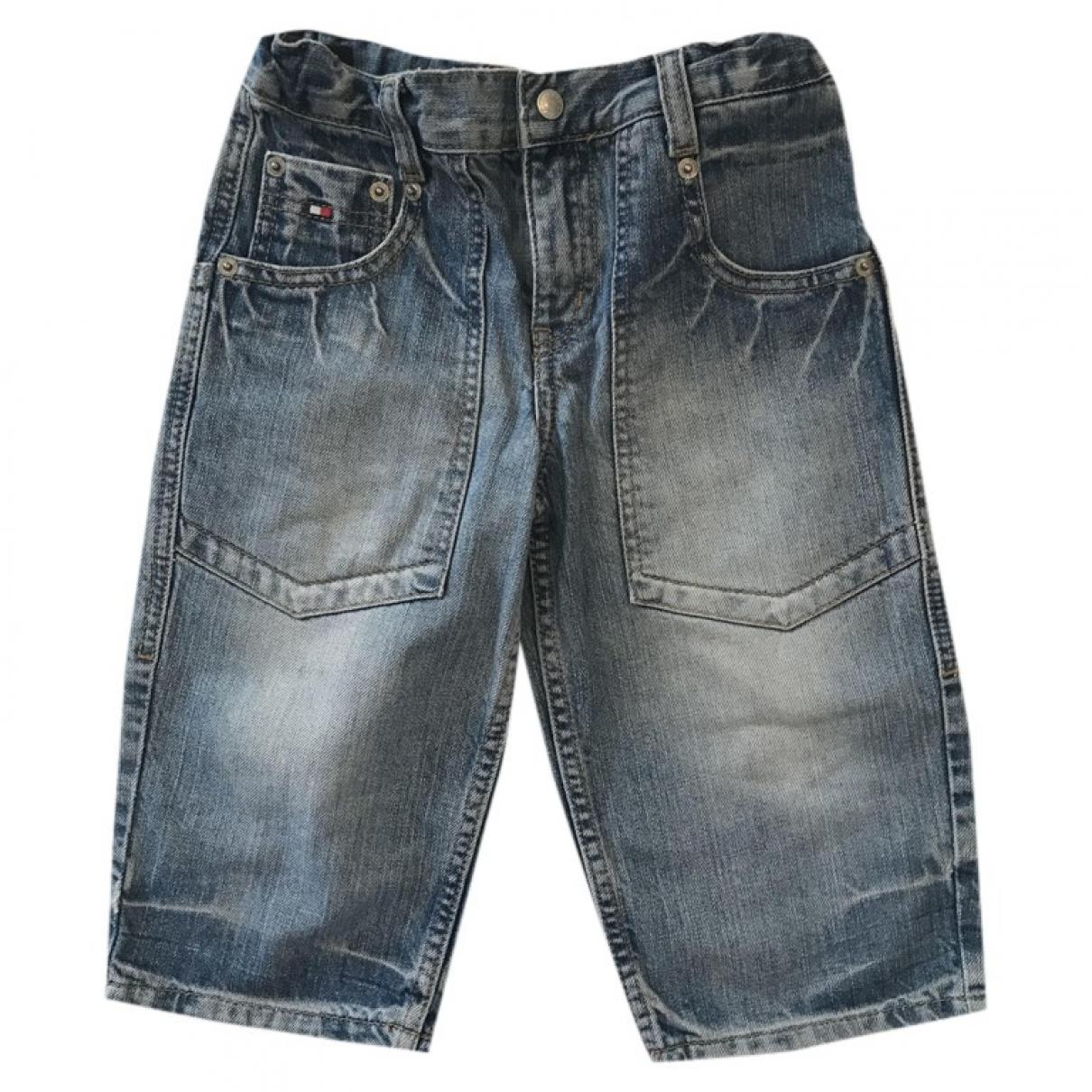Tommy Hilfiger - Short   pour enfant en denim - bleu
