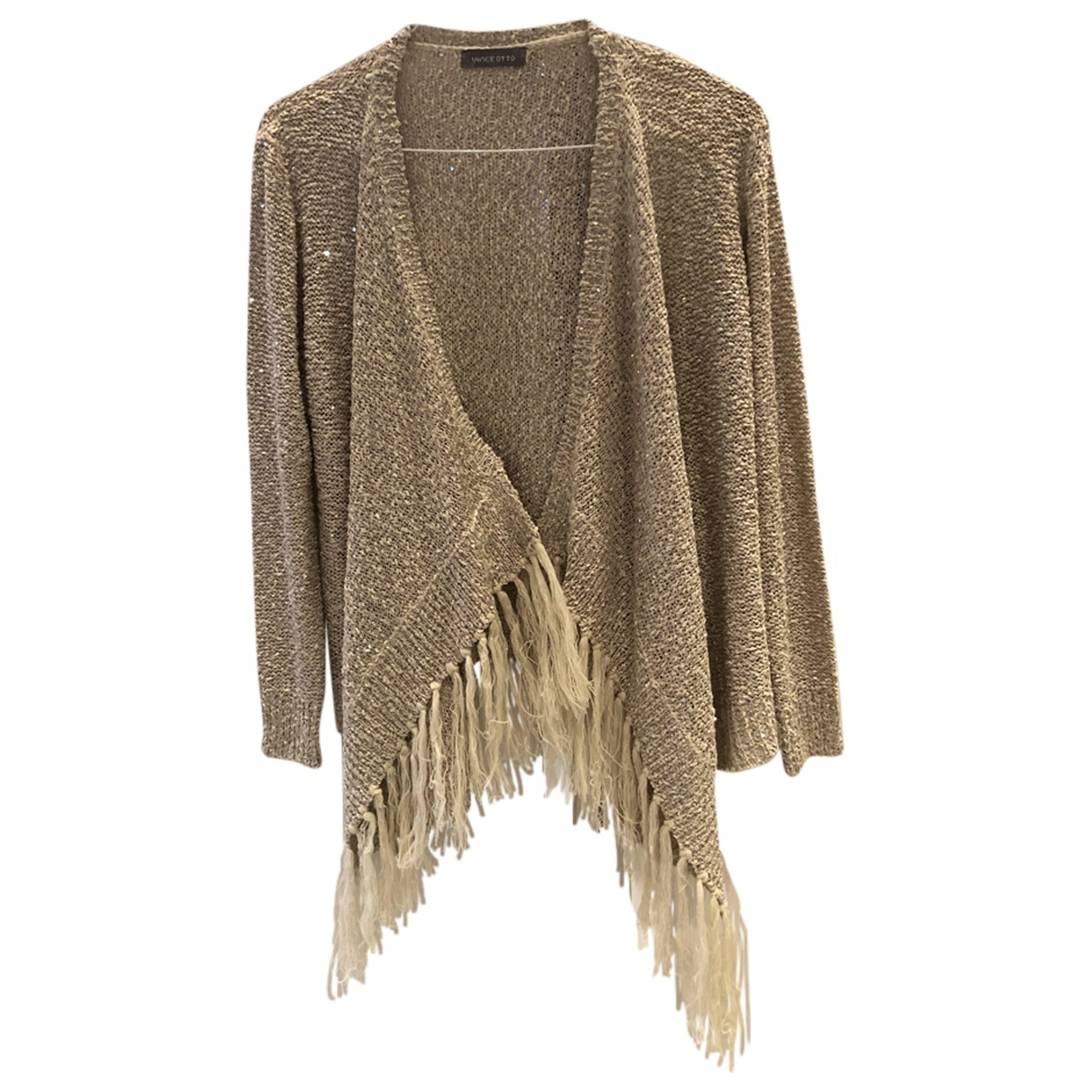 Non Signé / Unsigned \N Beige Knitwear for Women One Size International