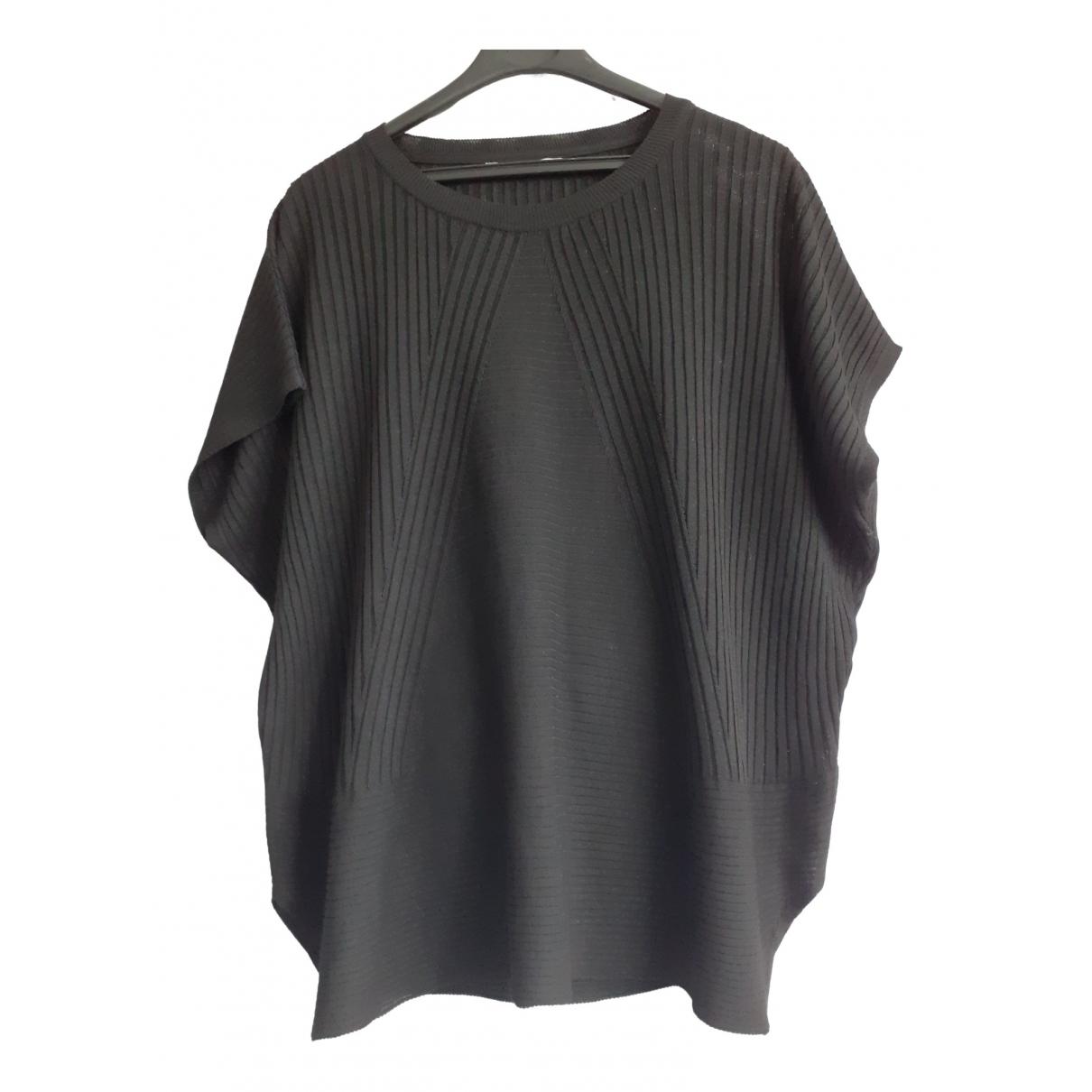 Uterque \N Black Silk  top for Women 40 FR