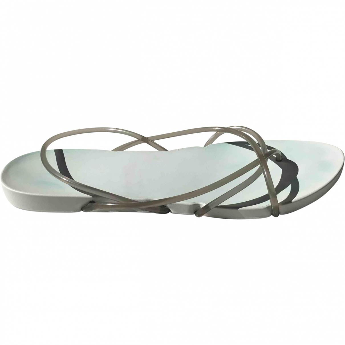 Starck \N Grey Rubber Sandals for Women 41.5 EU