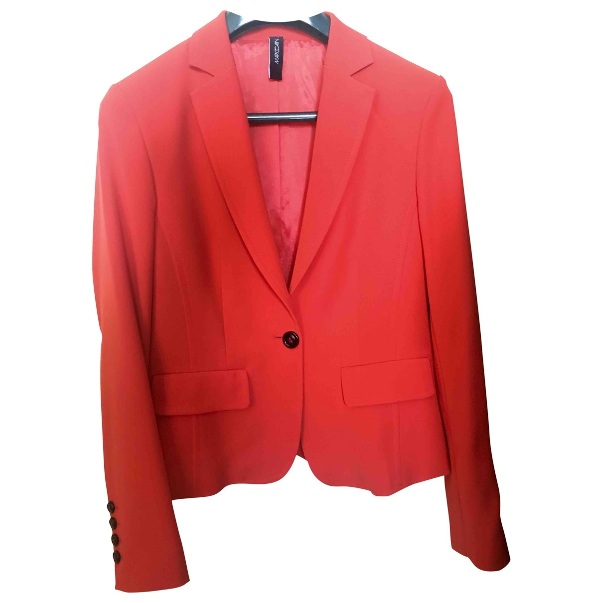 Marc Cain \N Jacke in  Rot Polyester