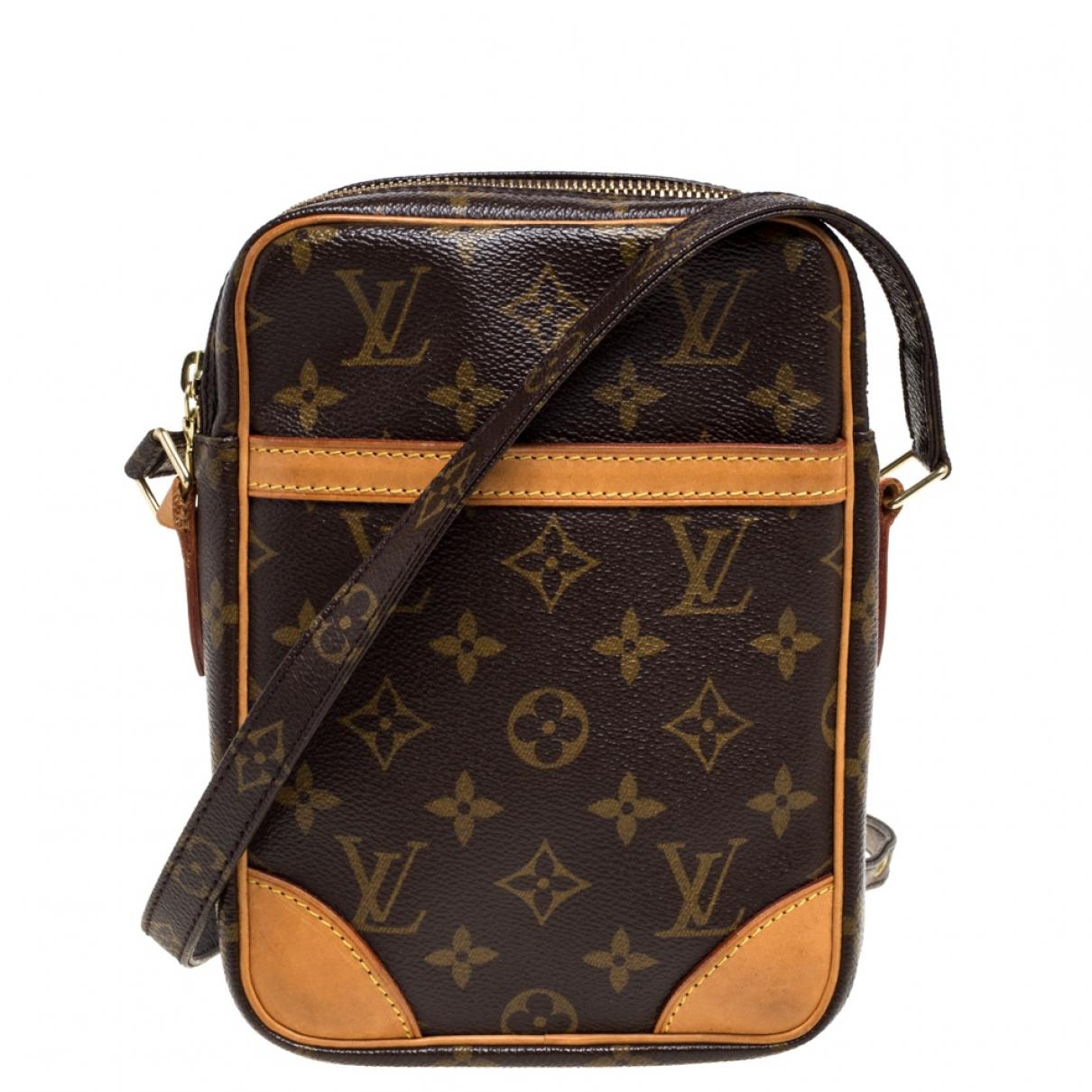 Louis Vuitton Danube Brown Leather handbag for Women N