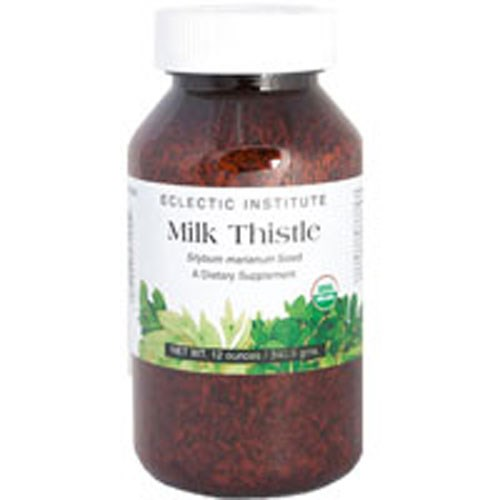Milk Thistle Seeds 12 oz by Eclectic Institute Inc