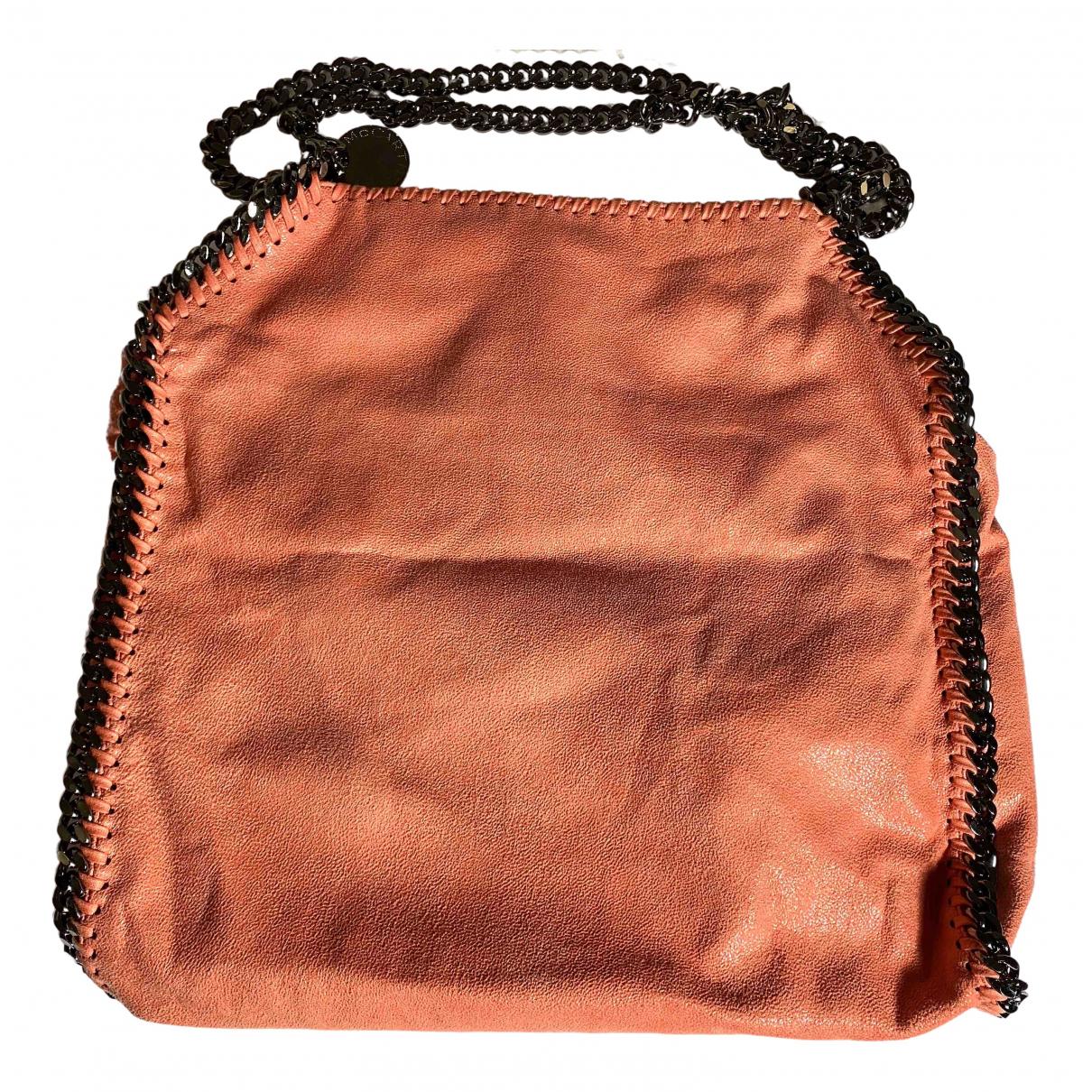 Stella Mccartney Falabella Handtasche in  Orange Leinen