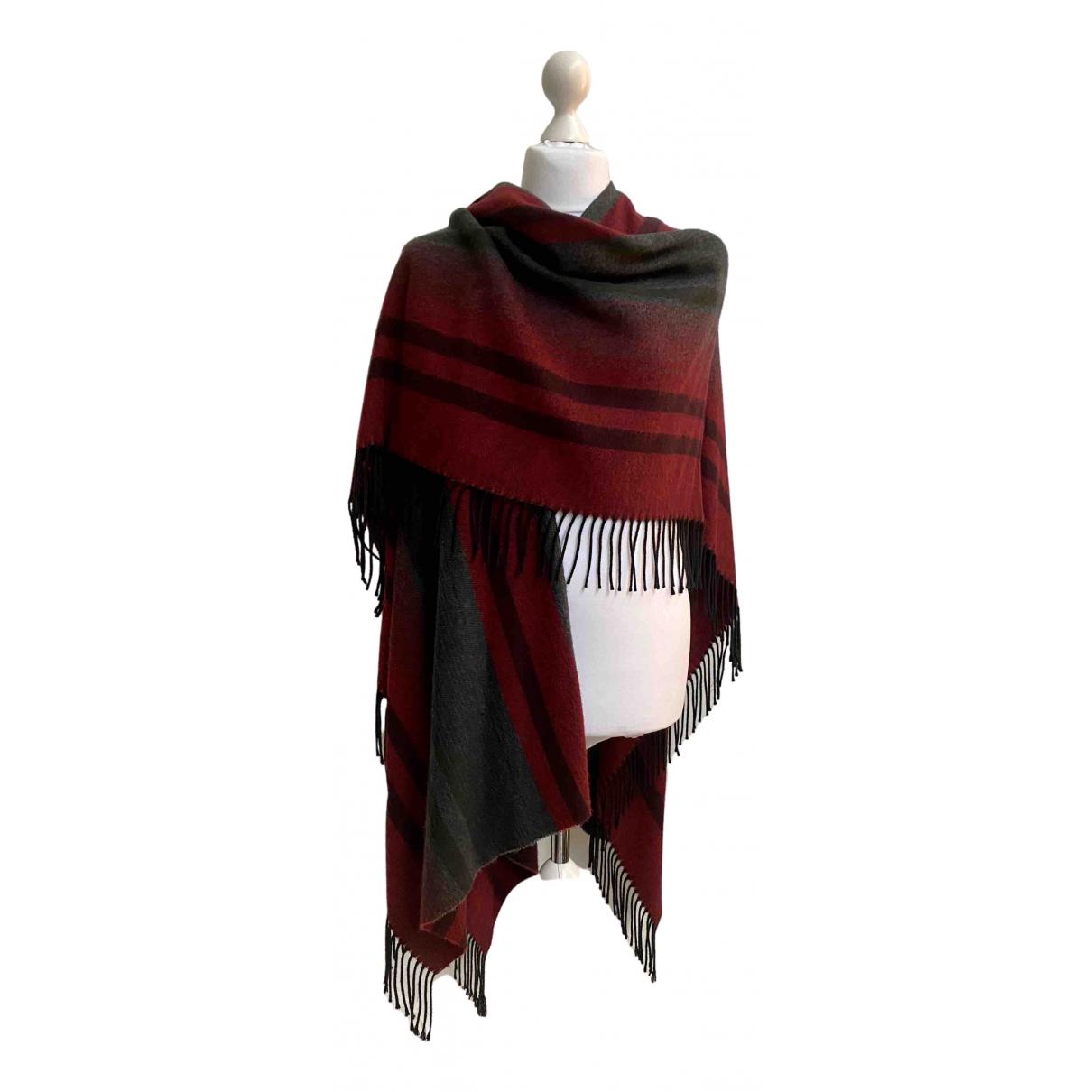 Comme Des Garcons N Multicolour Wool scarf & pocket squares for Men N
