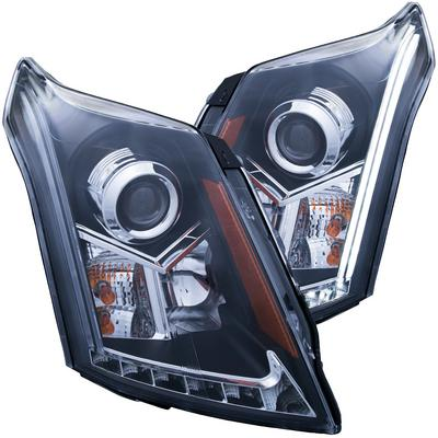 Anzo Projector Headlights Plank Style (Black) - 111308