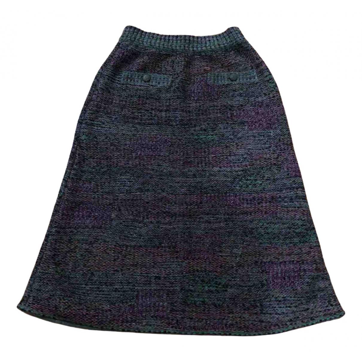 Chanel \N Multicolour Wool skirt for Women 38 FR