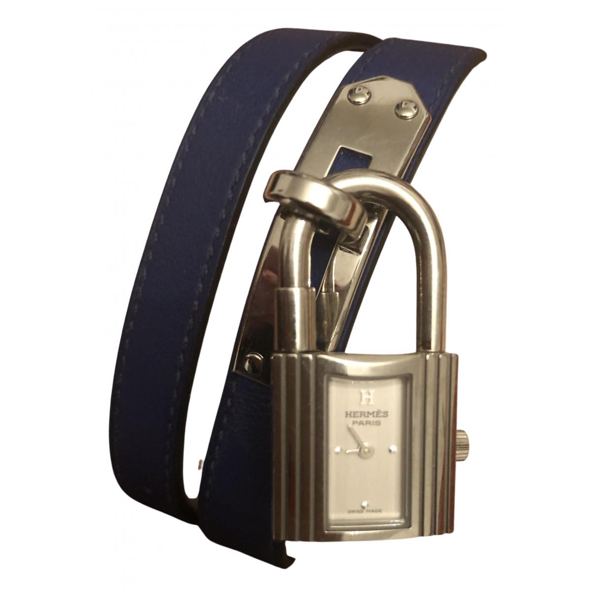 Hermès Kelly Gold Steel watch for Women N