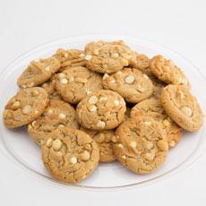 Gourmet White Chocolate Macadamia Cookie Tray (24)
