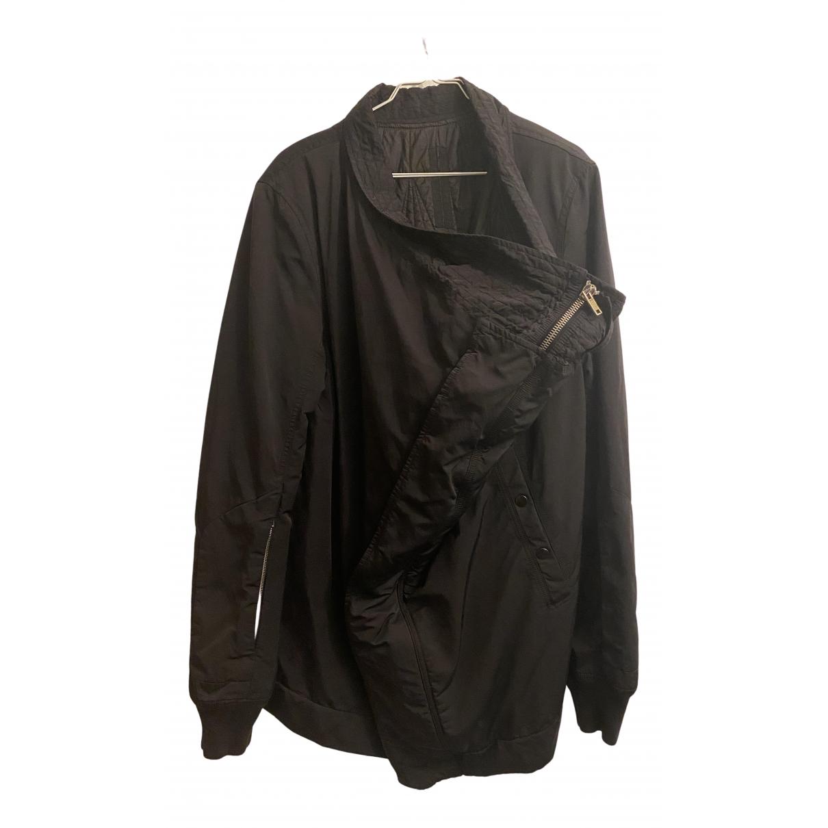Rick Owens Drkshdw N Black Cotton jacket  for Men 56 FR