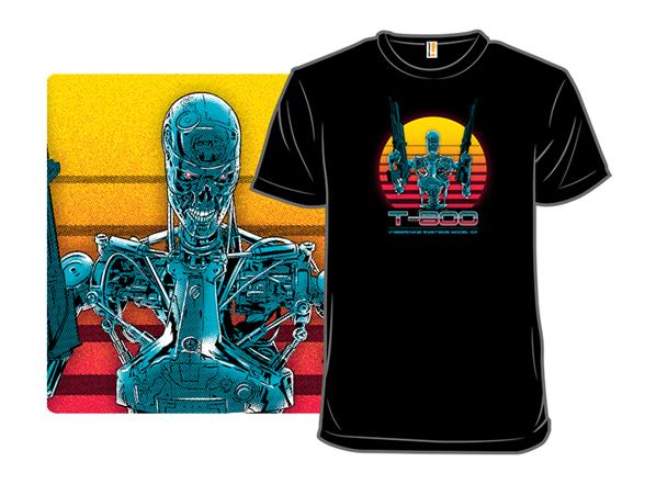 Lethal Robot T Shirt