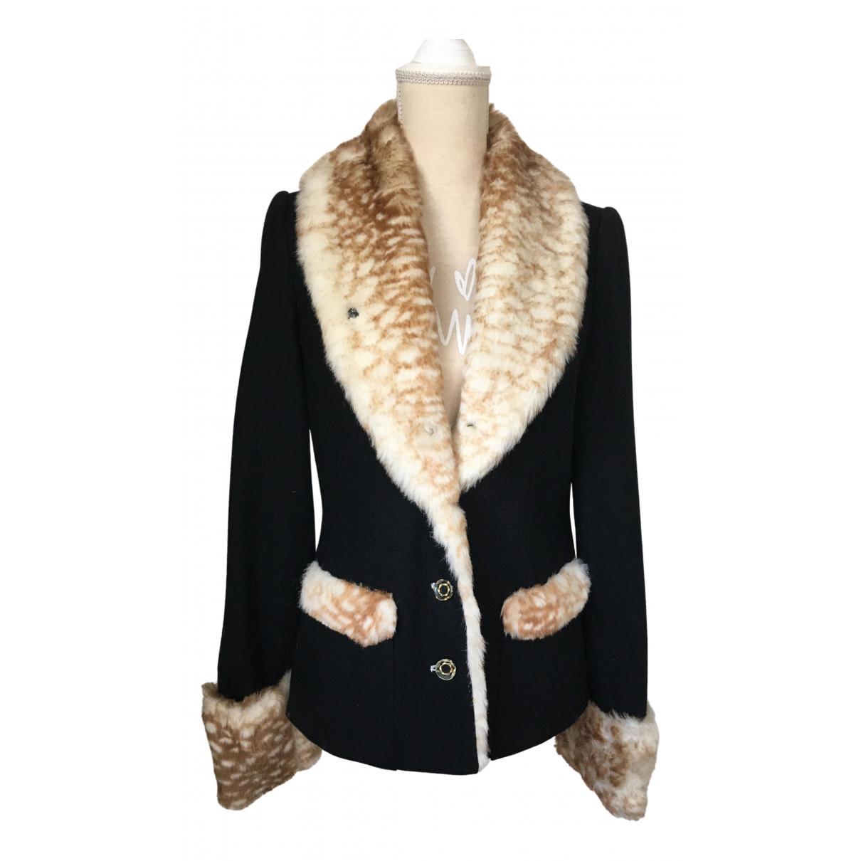 Nishe \N Black Wool jacket for Women 38 FR