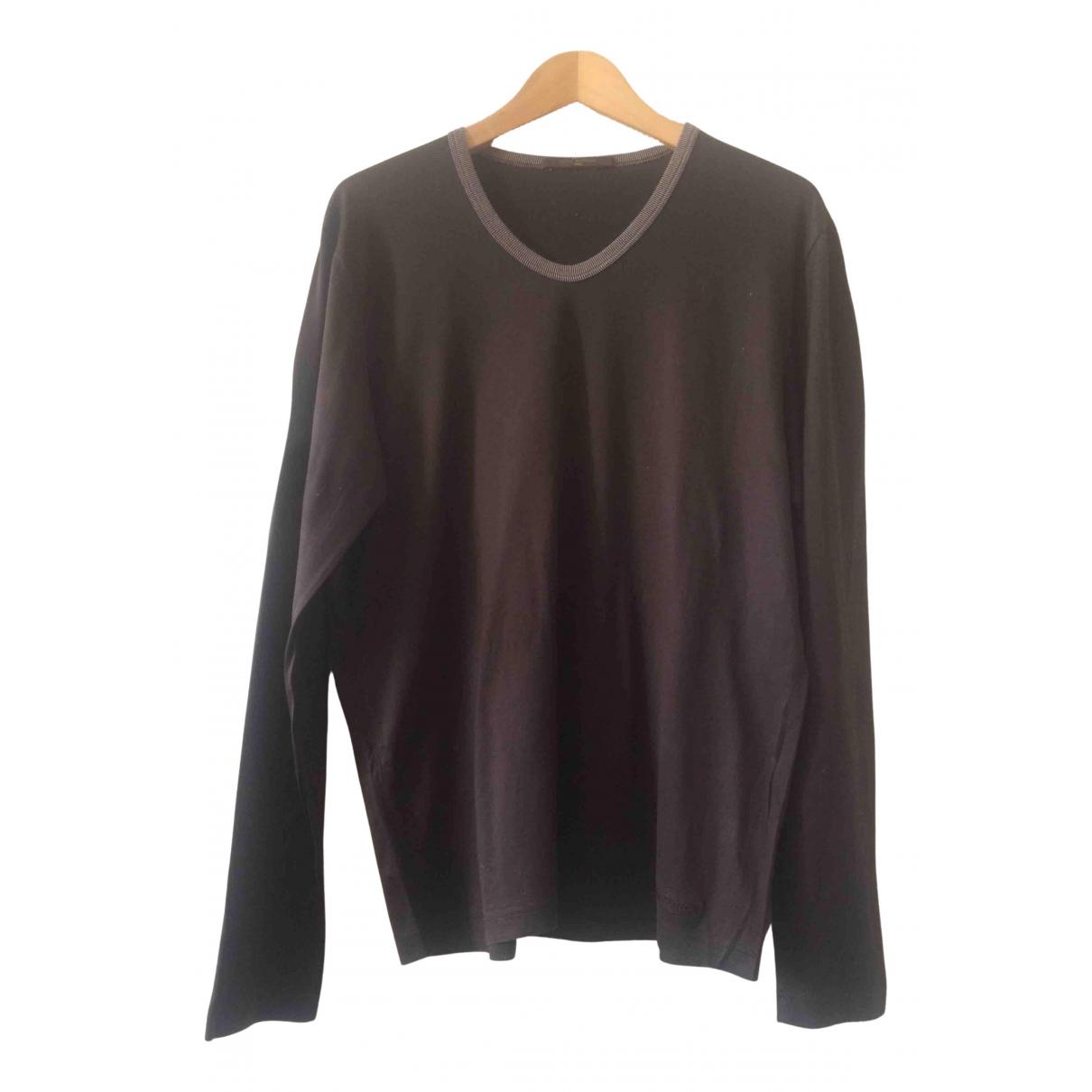 Louis Vuitton \N T-Shirts in  Braun Baumwolle