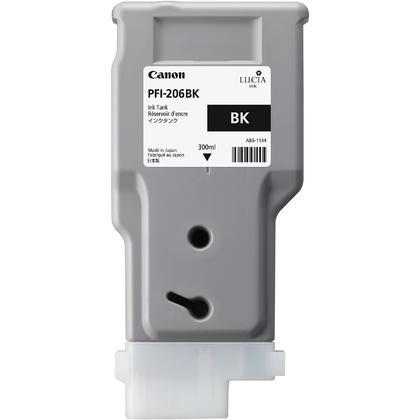 Canon PFI-206BK 5303B001AA cartouche d'encre originale noire