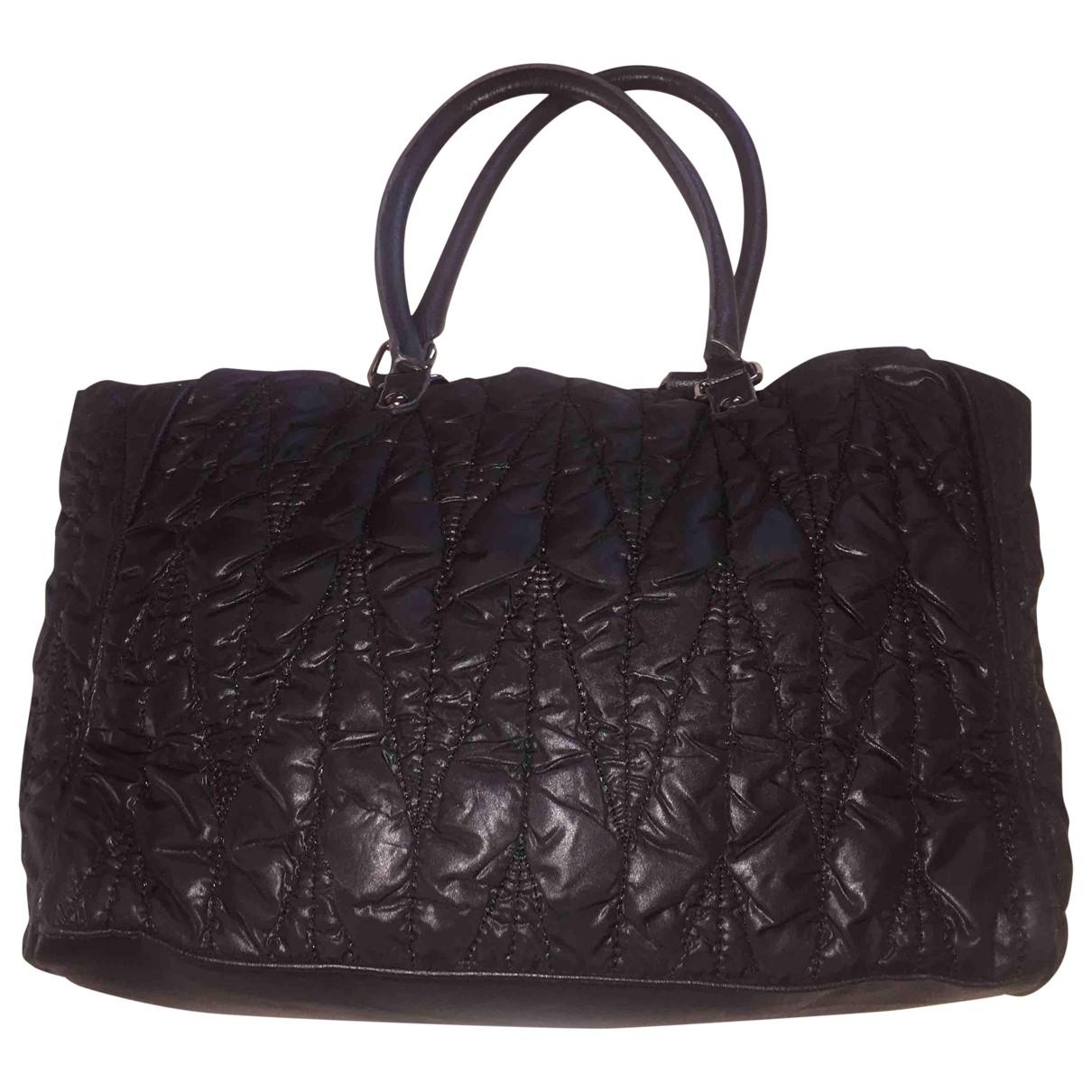 Pinko \N Handtasche in  Schwarz Polyester