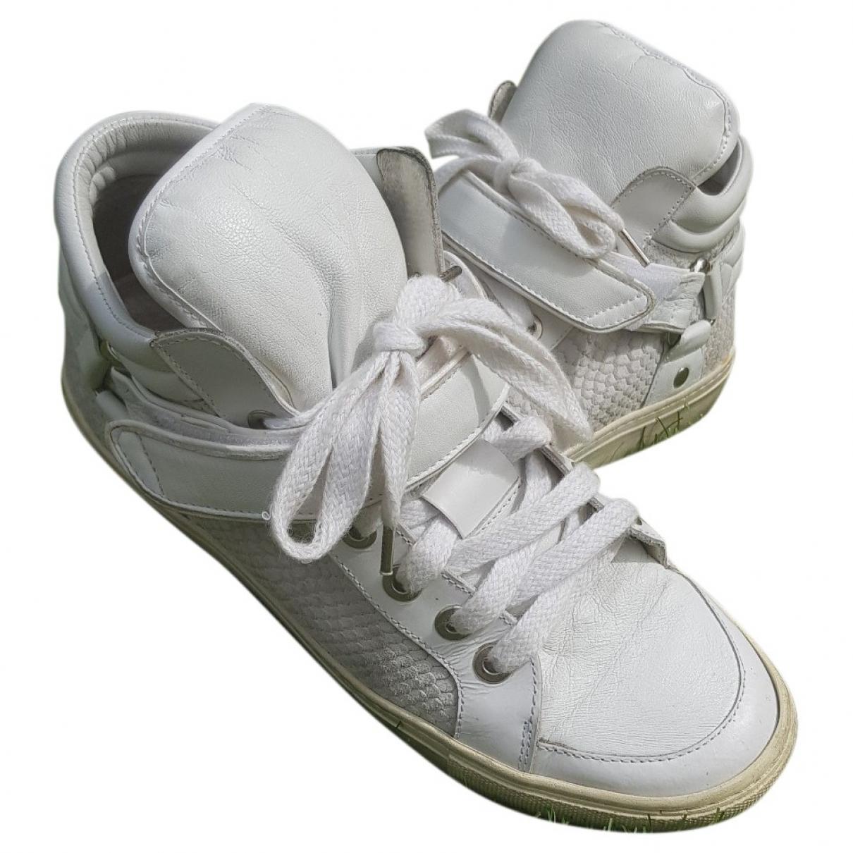 Maje - Baskets   pour femme en cuir - blanc