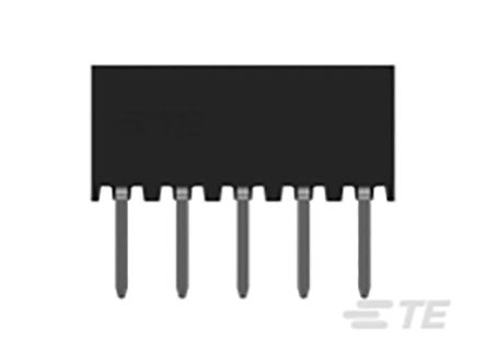 TE Connectivity , AMPMODU, 1-2314822 2mm Pitch 10 Way 2 Row Vertical PCB Socket, Through Hole, Solder Termination (55)