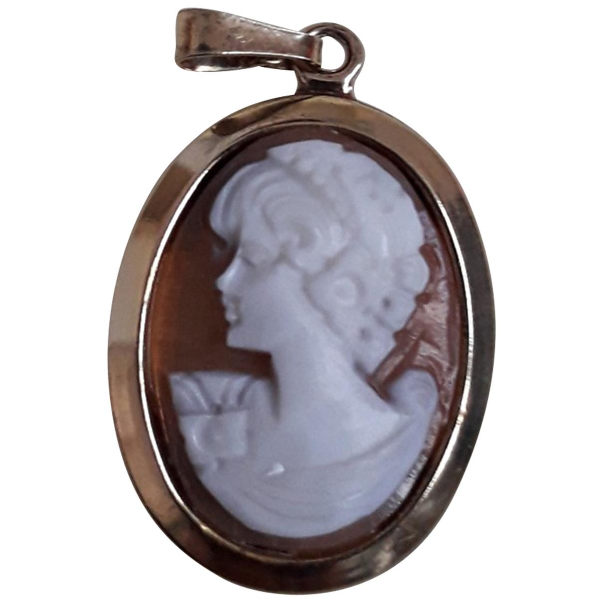 - Pendentif Medailles pour femme en argent - dore