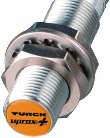 Turck M12 x 1 Inductive Sensor - Barrel, PNP-NO Output, 4 mm Detection, IP68, Cable Terminal