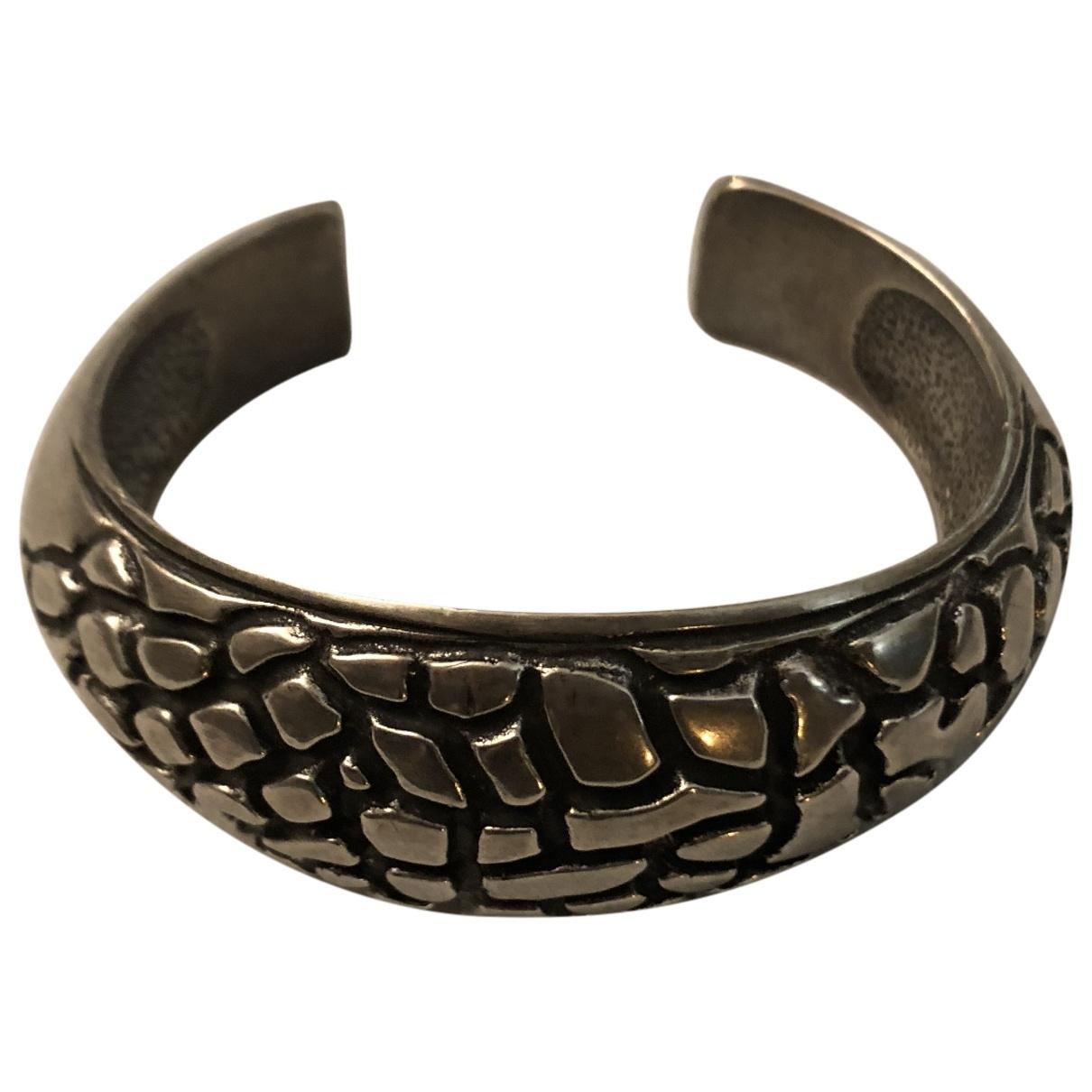 Saint Laurent \N Armband in  Silber Stahl
