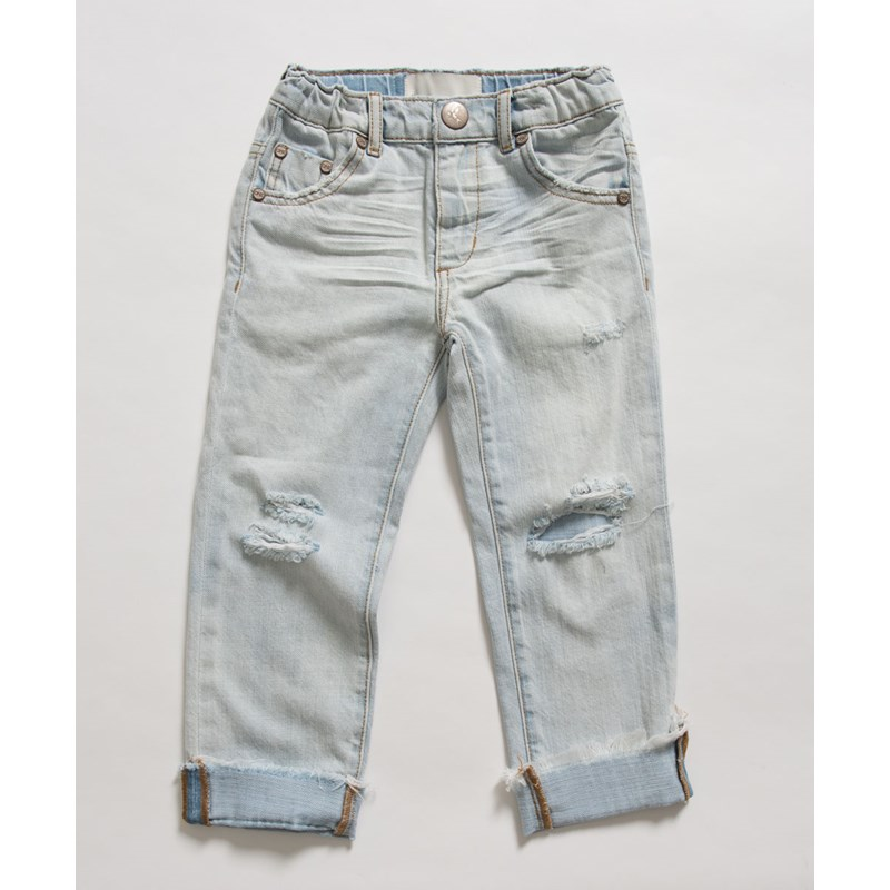 KIDS BRANDO AWESOME BAGGIES STRAIGHT LEG JEAN