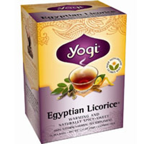 Yogi Tea- Egyptian Licorice  16 Bags by Yogi