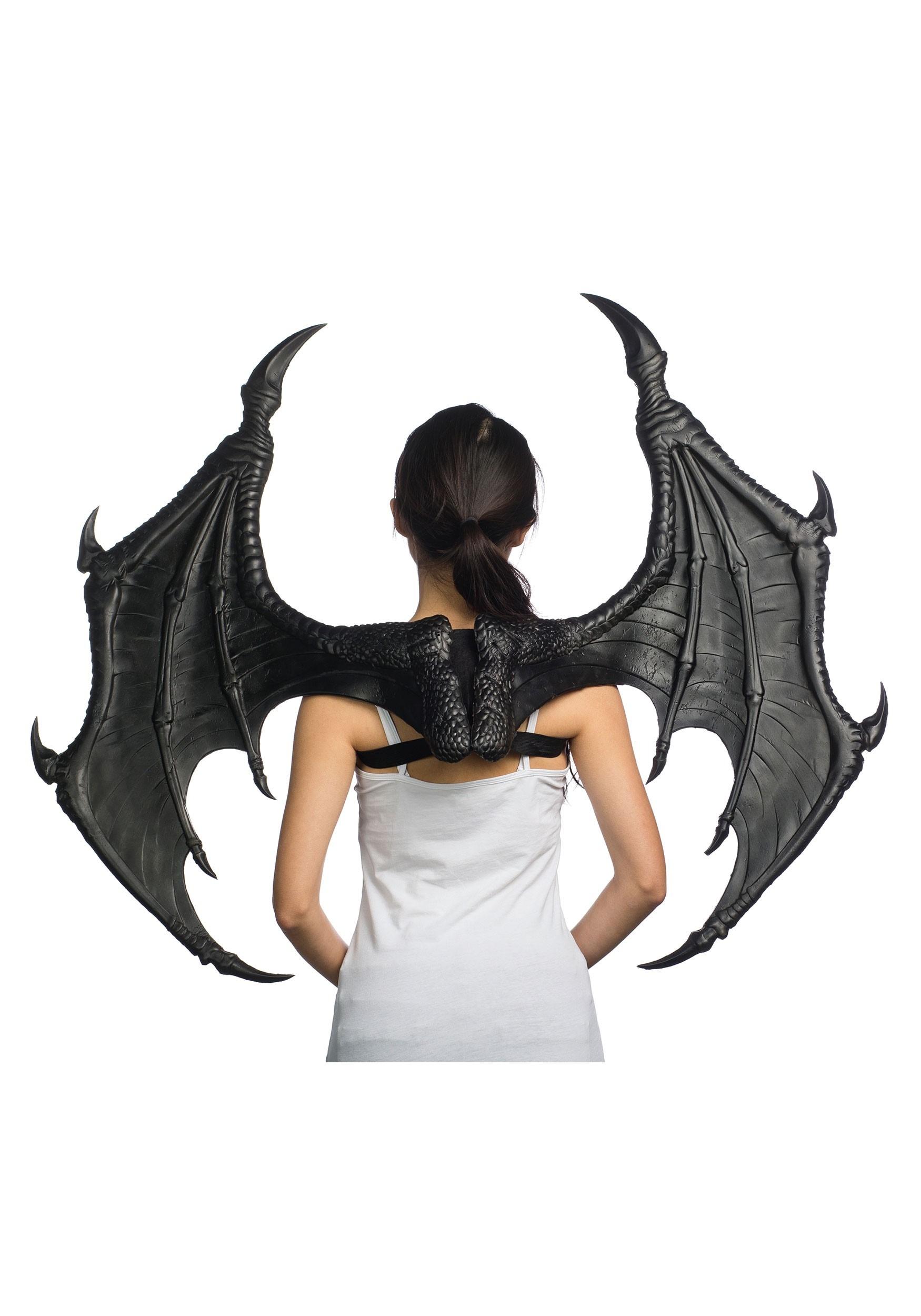 Ultimate Shiny Black Dragon Wings