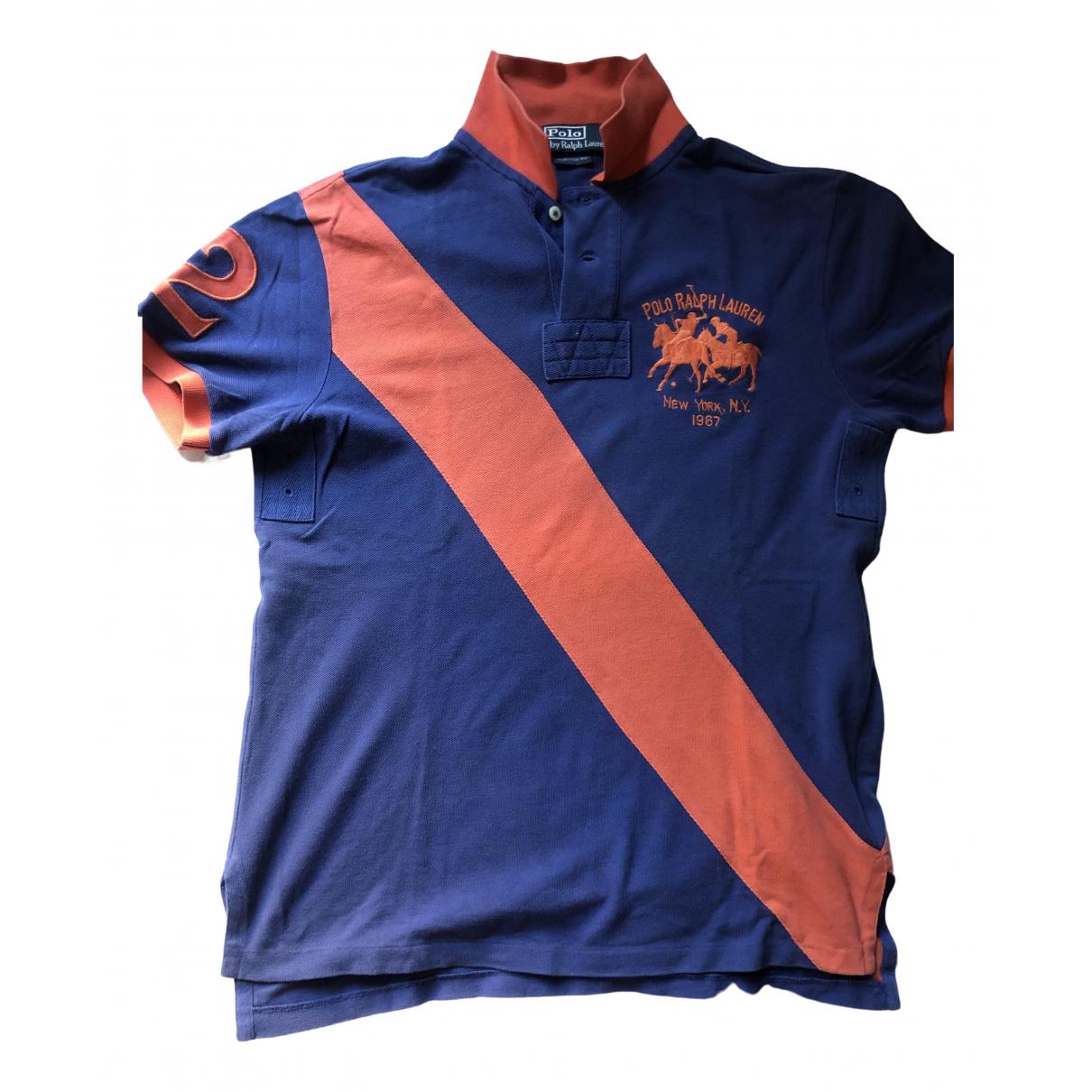 Polo Ralph Lauren Polo classique manches courtes Poloshirts in  Blau Baumwolle