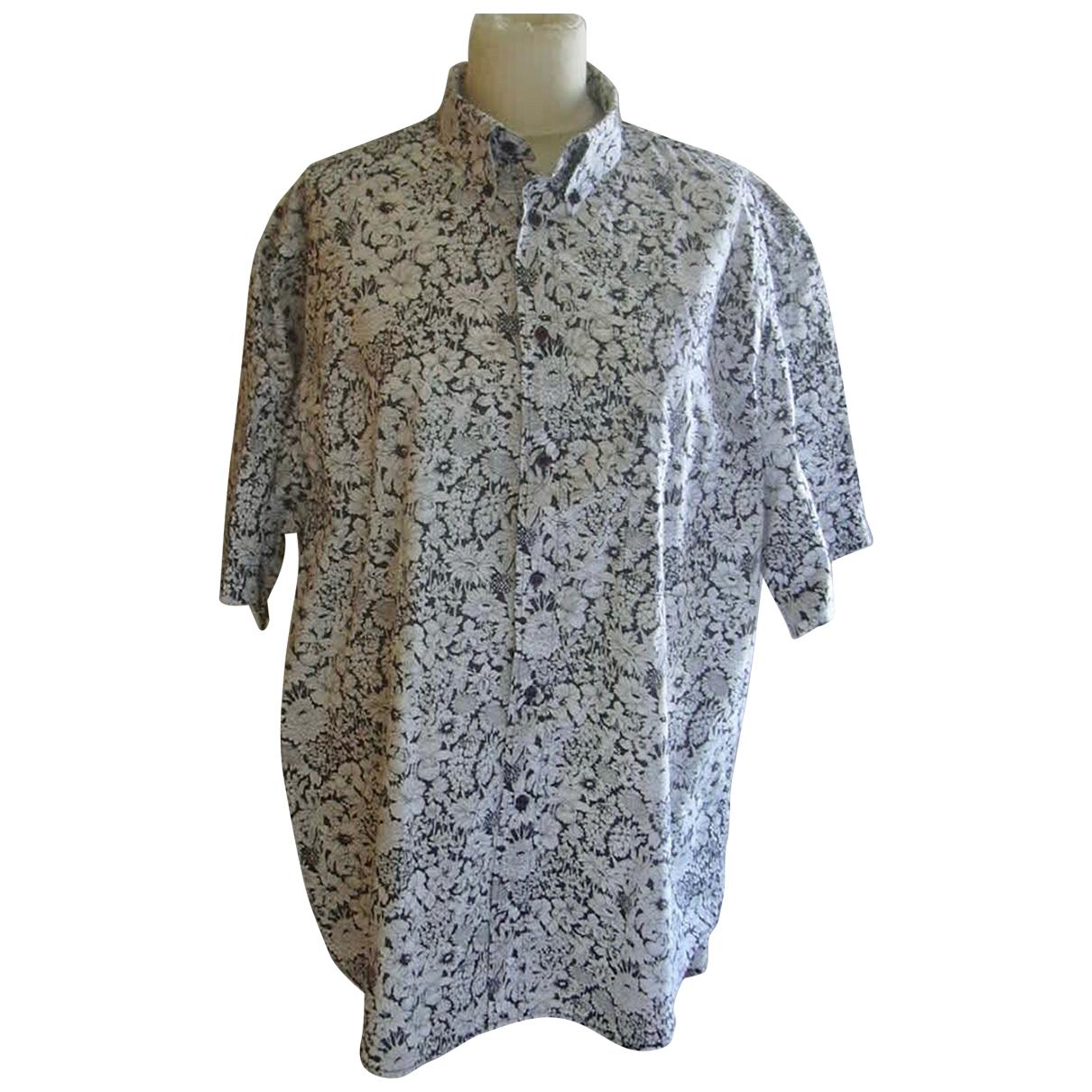 La Chemiserie Cacharel \N Hemden in  Anthrazit Baumwolle