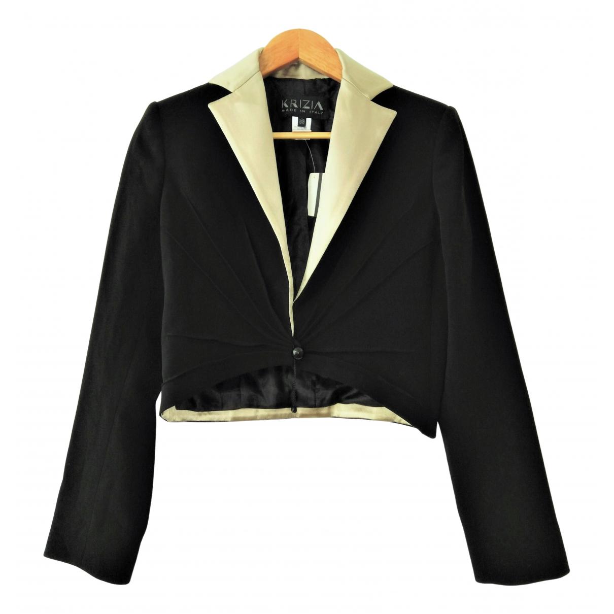 Krizia \N Black jacket for Women 40 IT