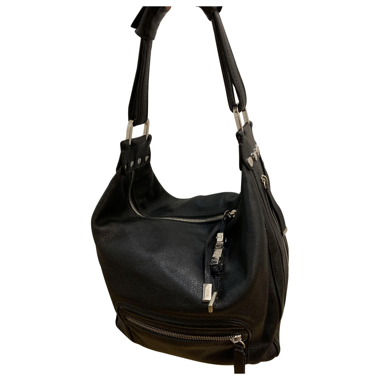 Tod's \N Black Leather handbag for Women \N