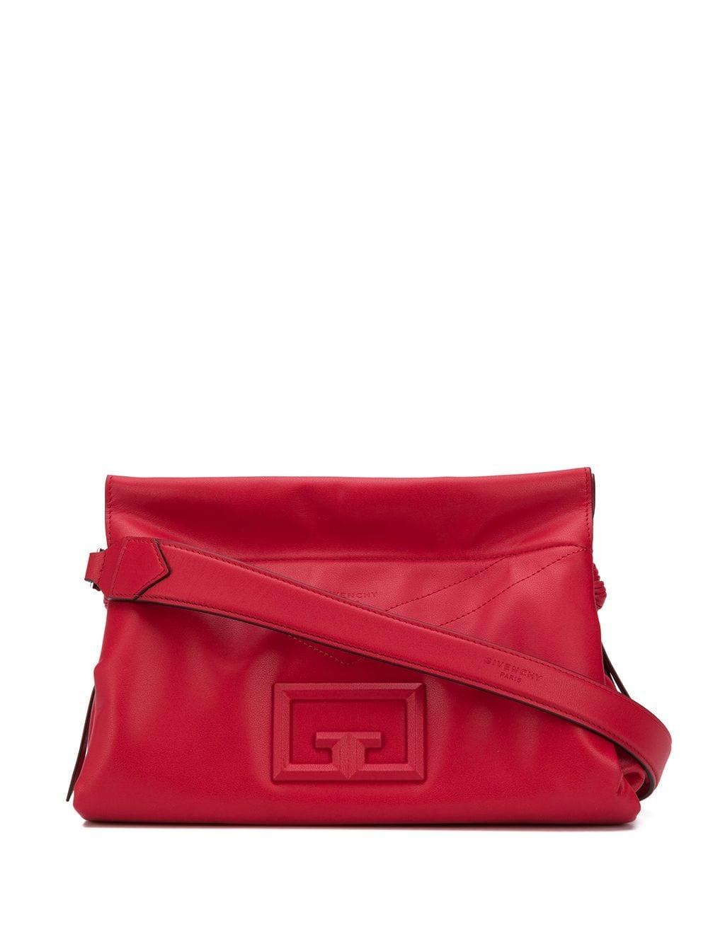 Id 93 Leather Shoulder Bag