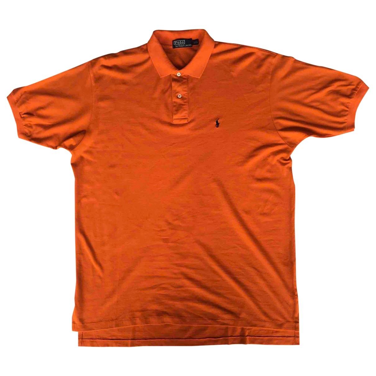 Polo Ralph Lauren - Polos Polo classique manches courtes pour homme en coton - orange