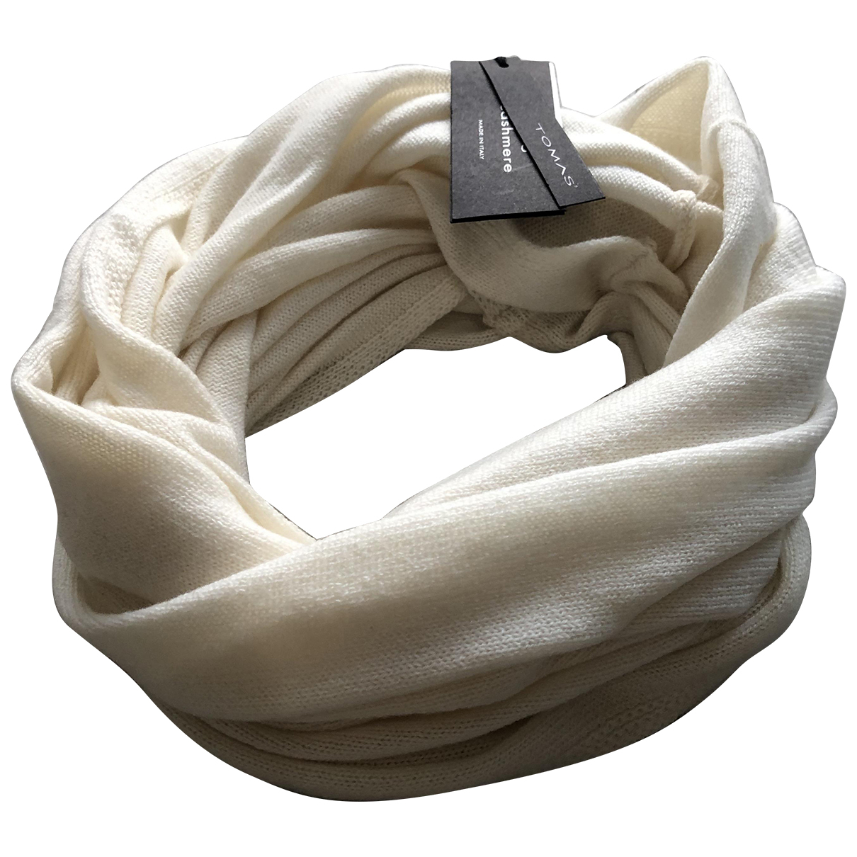 Mrz N White Cashmere scarf for Women N