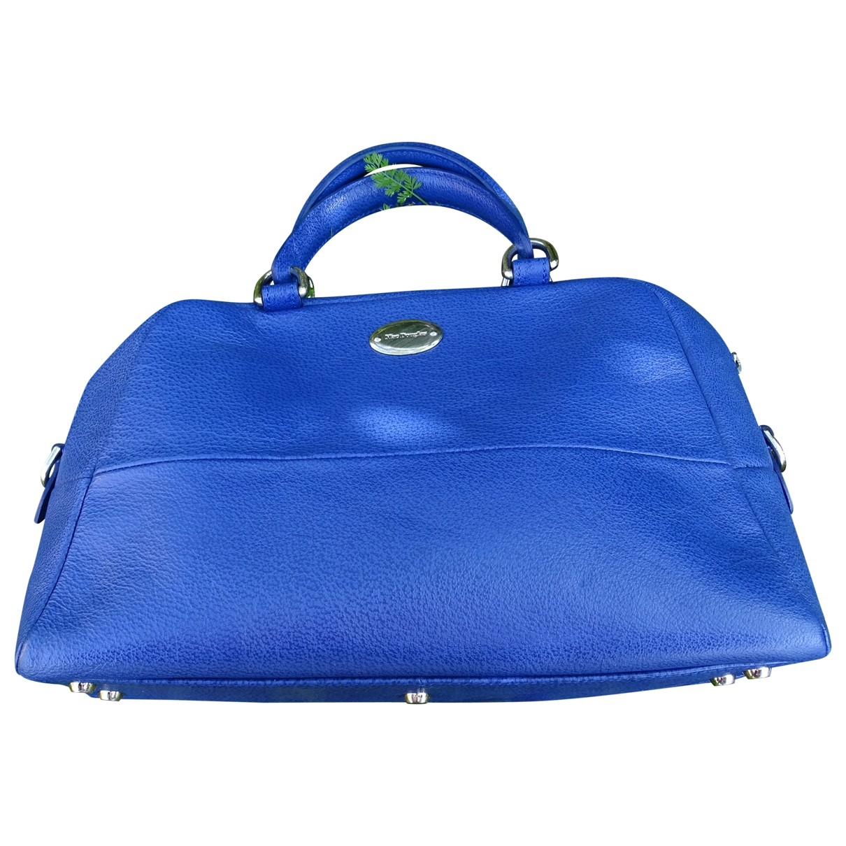 Mac Douglas \N Blue Leather handbag for Women \N