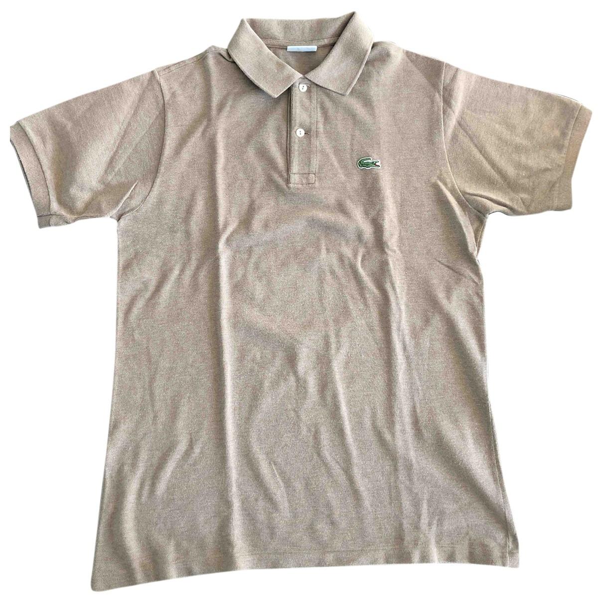 Lacoste - Polos   pour homme en coton - kaki