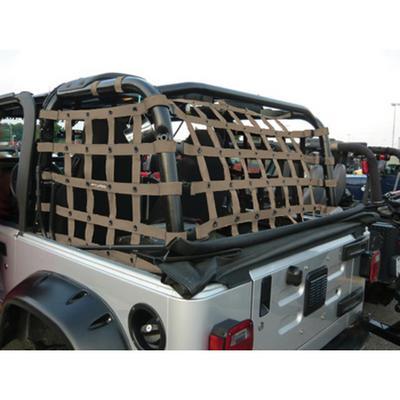 DirtyDog 4x4 Rear Cargo Netting - T2NN97RCSD