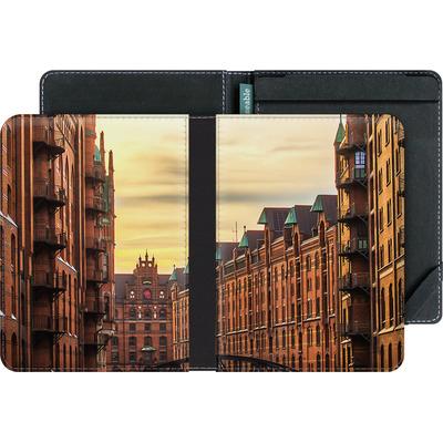 tolino vision 4 HD eBook Reader Huelle - Speicherstadt von caseable Designs