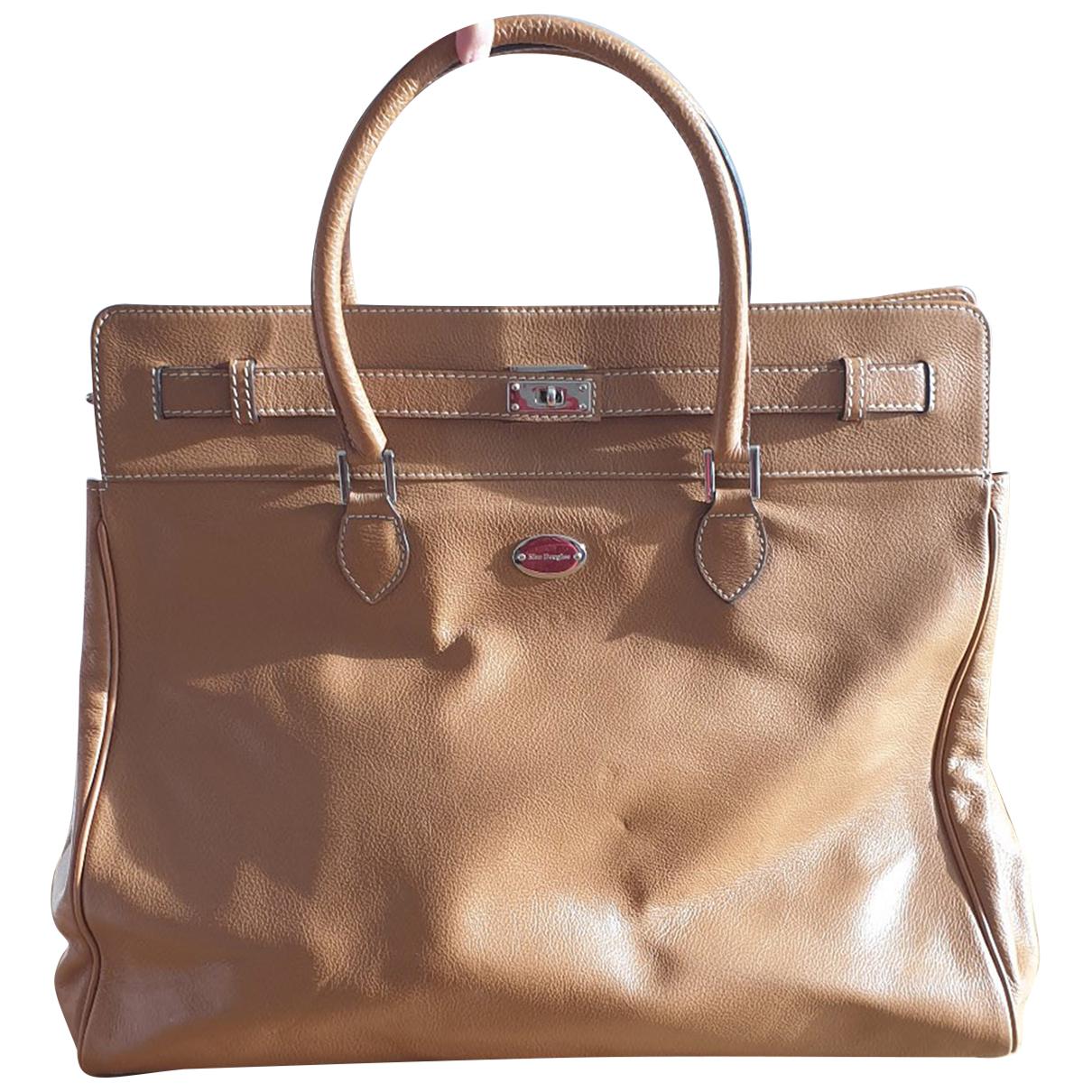 Mac Douglas - Sac de voyage   pour femme en cuir - camel