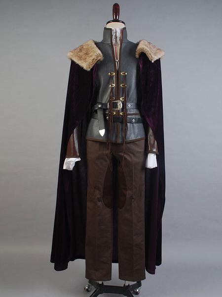 Milanoo Halloween Erase una vez David Nolan Cosplay Disfraz Principe negro Disfraz Halloween