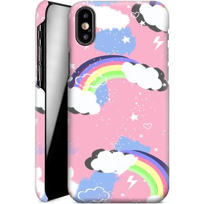 Apple iPhone XS Smartphone Huelle - Unicorn Rainbow von Mukta Lata Barua