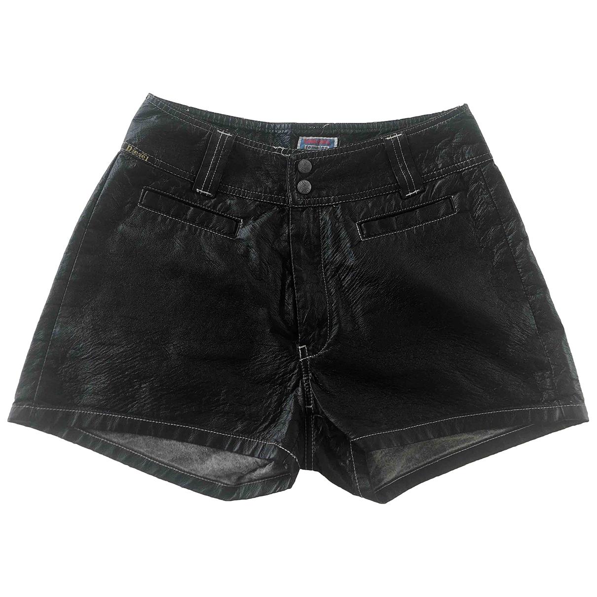 Diesel \N Shorts in  Schwarz Synthetik